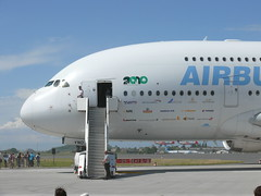 A380 front side