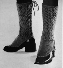 human body(0.0), thigh(0.0), tights(0.0), pattern(1.0), footwear(1.0), shoe(1.0), high-heeled footwear(1.0), limb(1.0), leg(1.0), sock(1.0), boot(1.0), black(1.0),