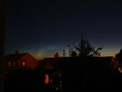 Noctilucent Clouds over Northallerton
