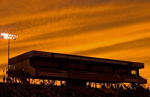 sunset ohio norwalk summit nitro dragracing dragster nhra nightoffire topfuel