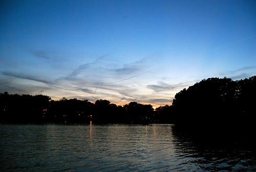 sunset summer lake cabin nikon indiana lowell nikond40x d40x