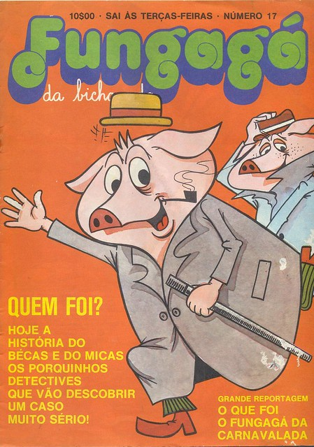 Fungagá da Bicharada, No. 17, March 1 1977 - cover