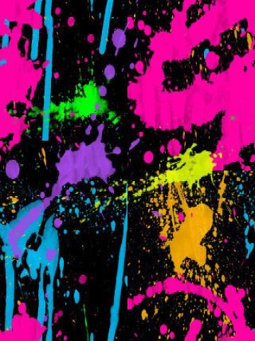 Neon-Paint-Splatter | Flickr - Photo Sharing!  Neon-Paint-Spla...