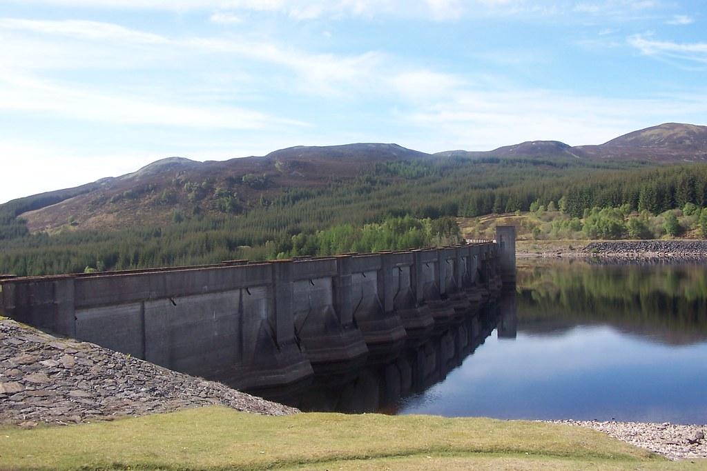 Loch Errochty Dam