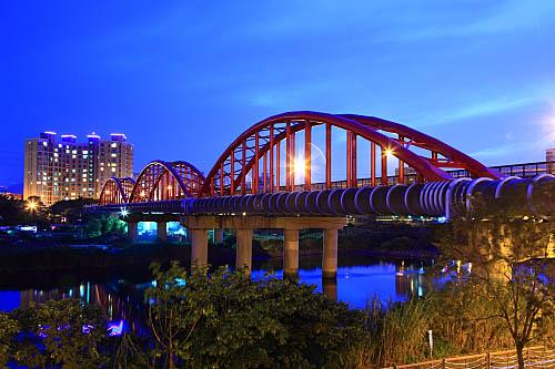 593H永福水管橋-夜景