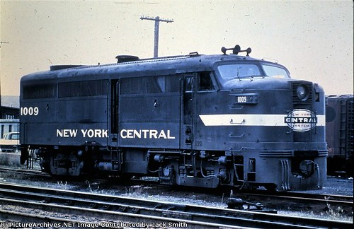 New York Central Railroad Alco FA-2 at Detroit Michigan circa mid 1960's. From the internet. by Eddie from Chicago
