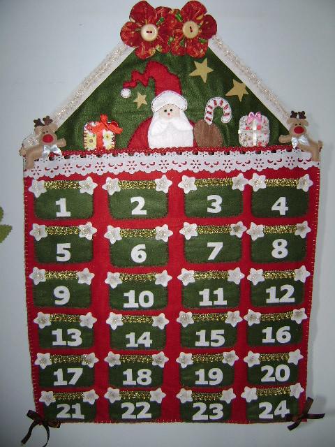 Calendário de Natal com Papai Noel | Flickr - Photo Sharing!