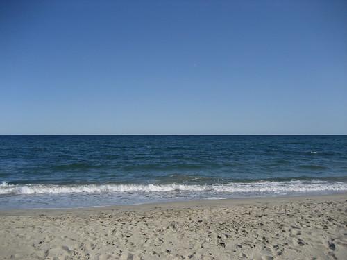 Clear Beach & Sky