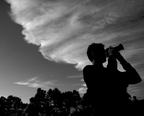 pink sunset summer people blackandwhite music festival clouds flickr photographer greenfield freinds goldenlight westernmass greenriverfestival pentaxk10d