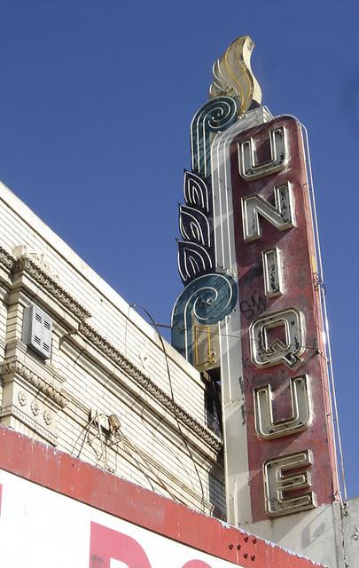 Unique Theater, 3647 1st Street, Los Angeles