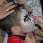 Facepainting at Almaty Zoo - Almaty, Kazakhstan