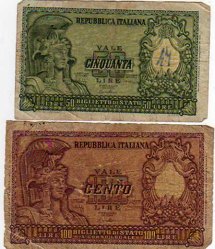 old Italian currency | Flickr - Photo Sharing!