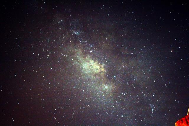 denser in middle night sky milky way galaxy - photo #7