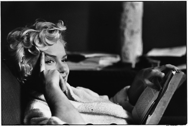 Marilyn Monroe, by Elliott Erwitt