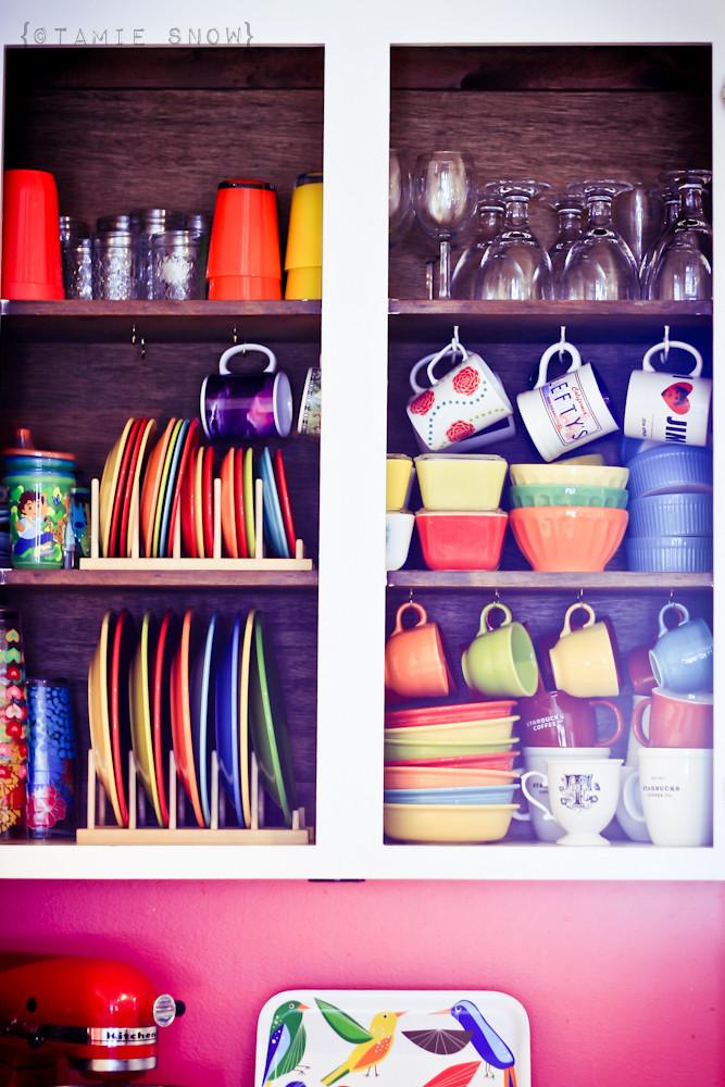 Rainbow Cupboards by Roxycraft