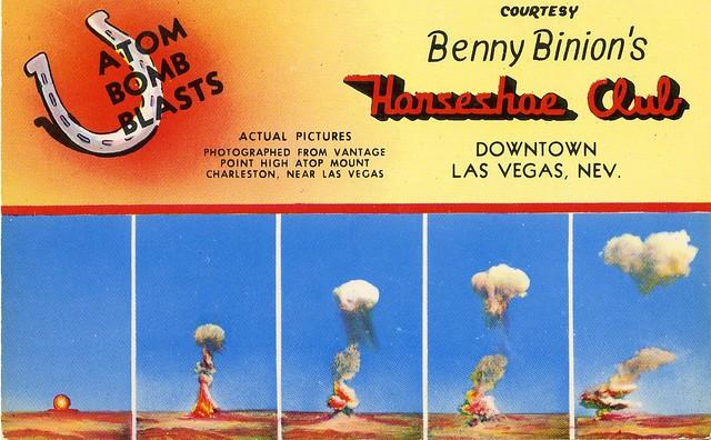 Benny Binion's Horseshoe Club - Las Vegas, Nevada U.S.A. - date unknown