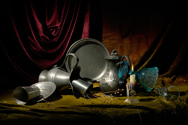 Still Life with Antique Ware