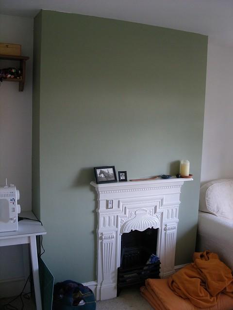 Living Room Chimney Breast Wallpaper Ideas
