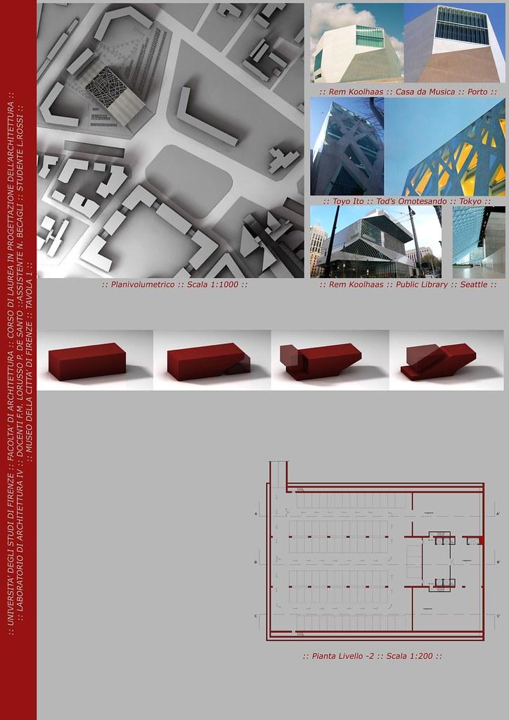 Tavole progettazione w i p work in progress treddi for Planimetrie di progettazione architettonica