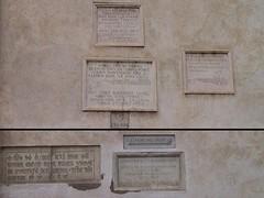 Santa Maria sopra Minerva - Flood marker