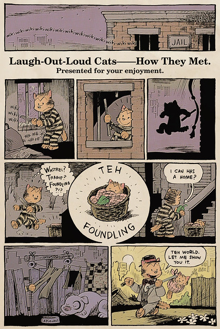 Laugh-Out-Loud Cats Sunday Strip #1