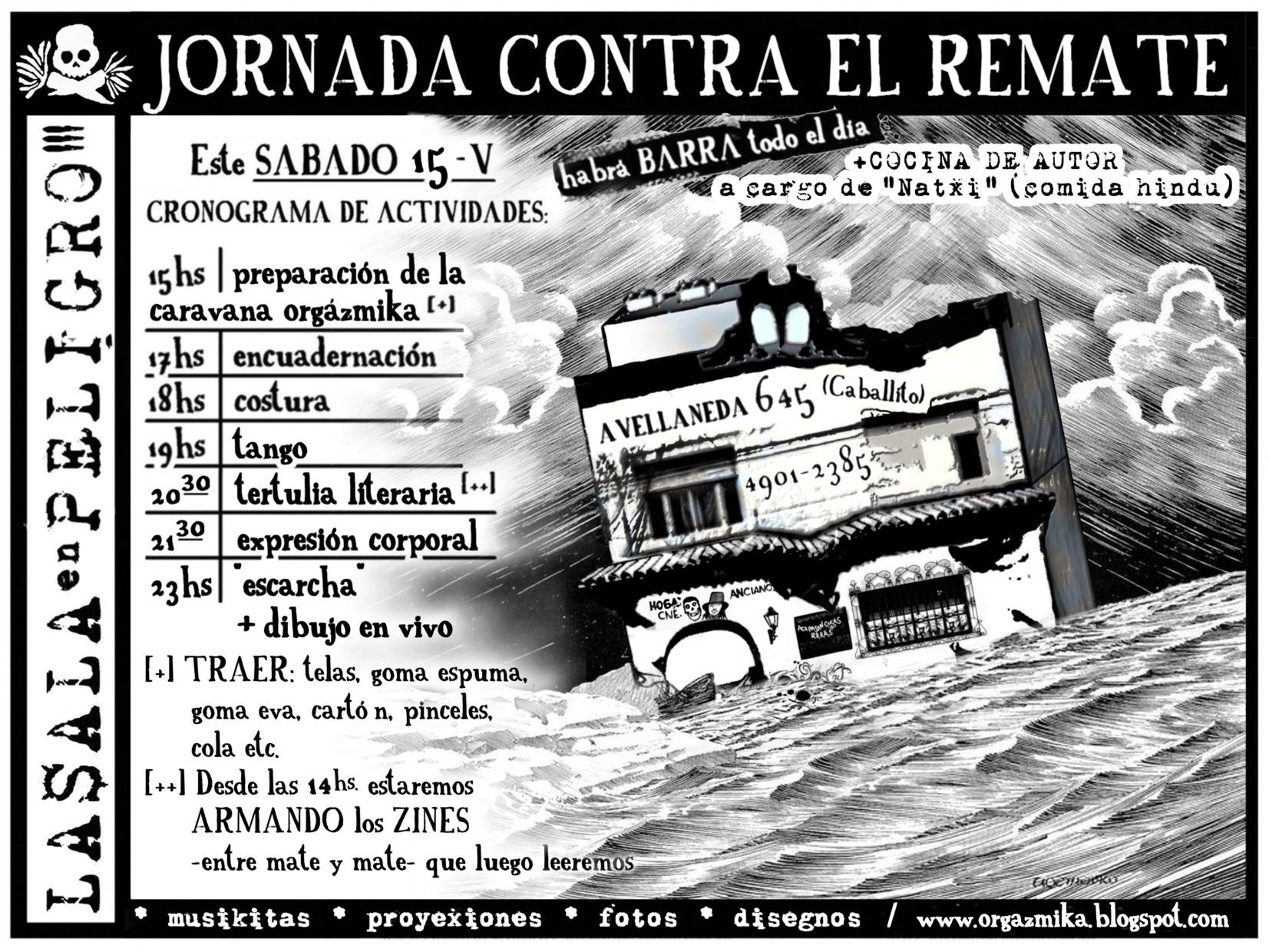 JORNADA CONTRA EL REMATE DE LA$ALA | SÁB-15-V