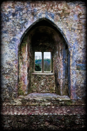 ireland irish window gothic ruin blarney blarneycastle countycork blarneystone