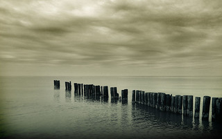 sombre sky