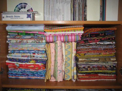 A fraction of my fabric stash