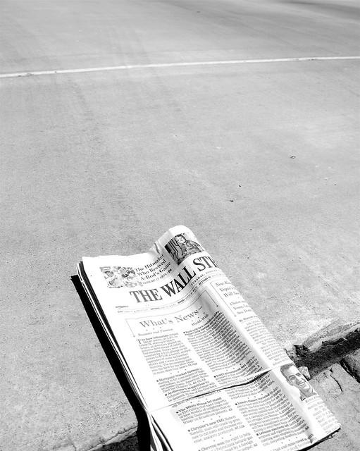 Wall Street Journal from Flickr via Wylio