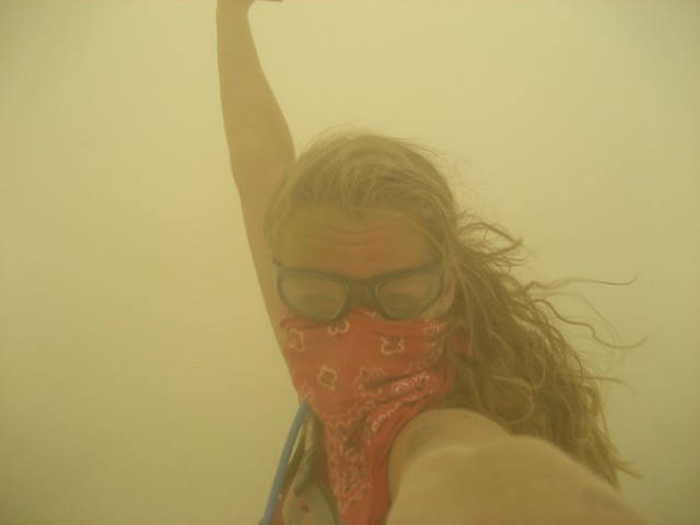 Dust Storm Diva!  Burning Man 2007