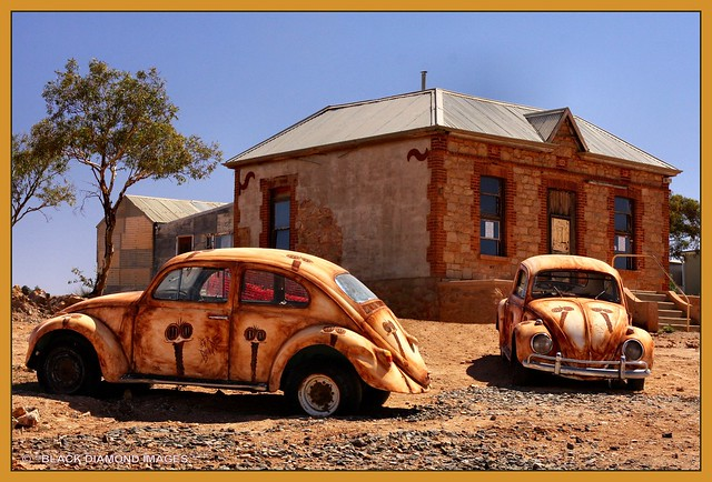 Volkswagons at Silverton, Near Broken Hill, NSW, Australia