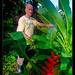 Robert in his garden, Costa Rica (2)