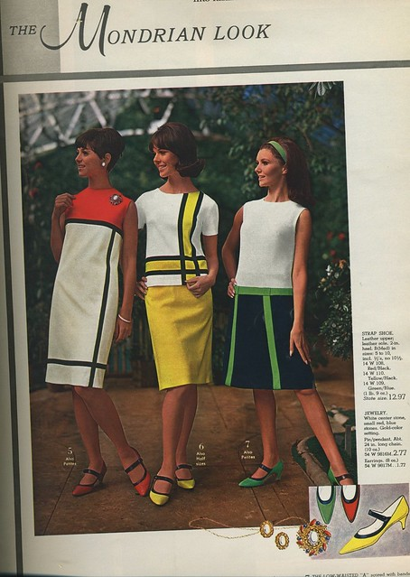 Spiegel 1966 The Mondrian Look