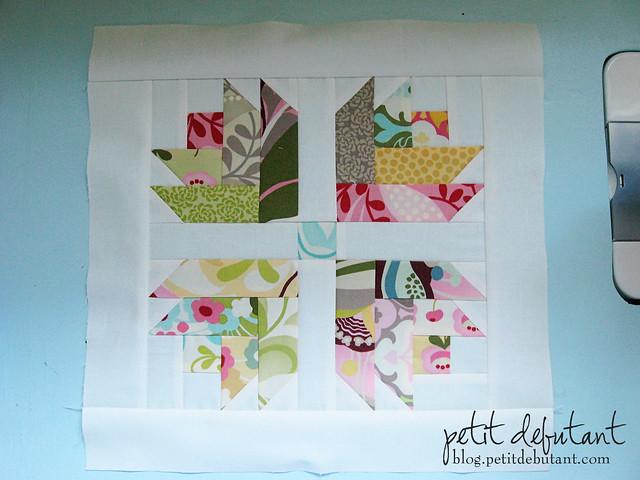 Tulip Quilt Block