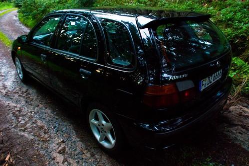 Nissan Almera N15 Hatchback 1 / 7 (beim Hesseneck / Odenwald)