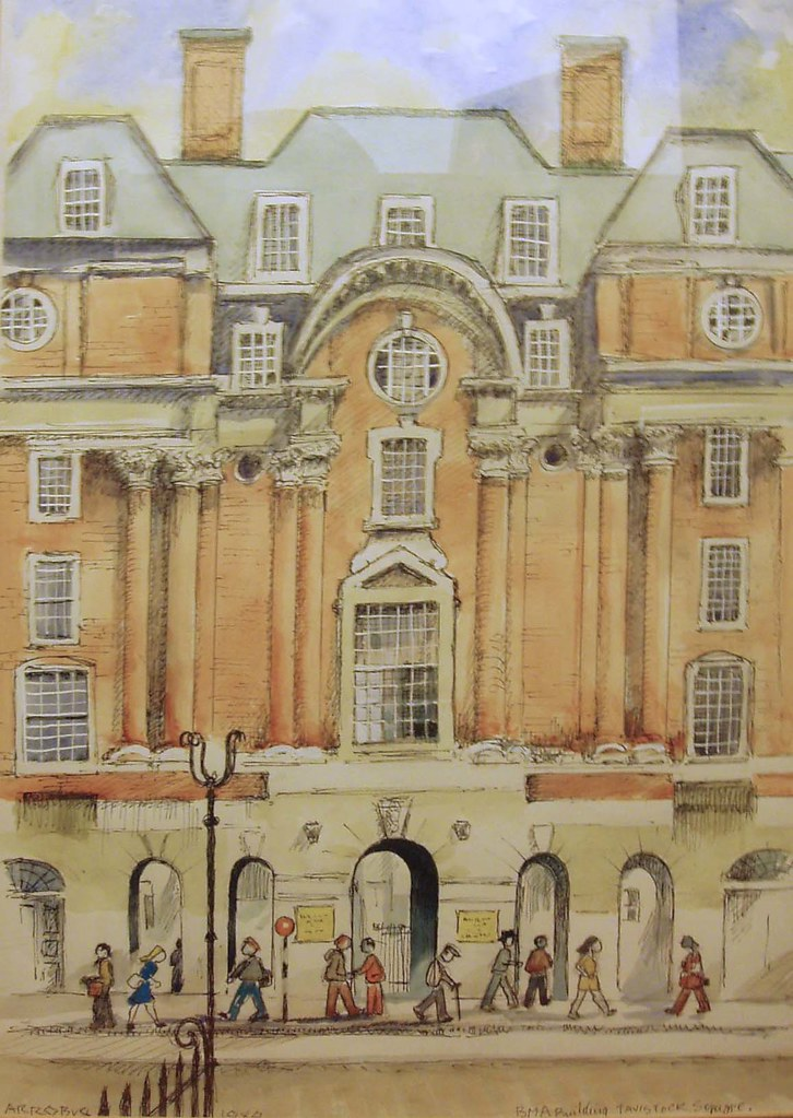 Tavistock House,  BMA Building, Upper Woburn Place, London WC2