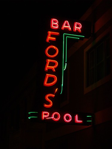Fords Bar Sign