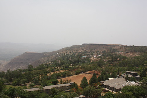 View from Tableland, Panchgani