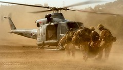 RAF Regiment Casualty Evacuation Training Cyprus