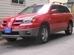 automobile, automotive exterior, sport utility vehicle, vehicle, compact sport utility vehicle, mitsubishi outlander, mitsubishi, bumper, land vehicle,