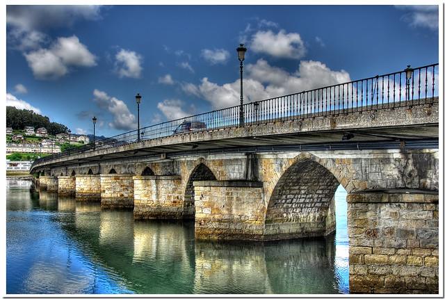 puente en viveiro - HDR