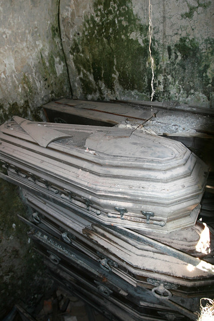 Dead People In Caskets http://www.flickr.com/photos/arnaudin