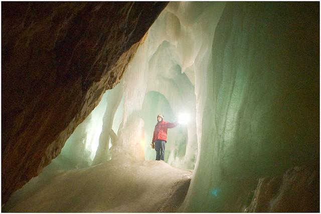 EisRiesenWelt Ice Cave at Werfen, Austria