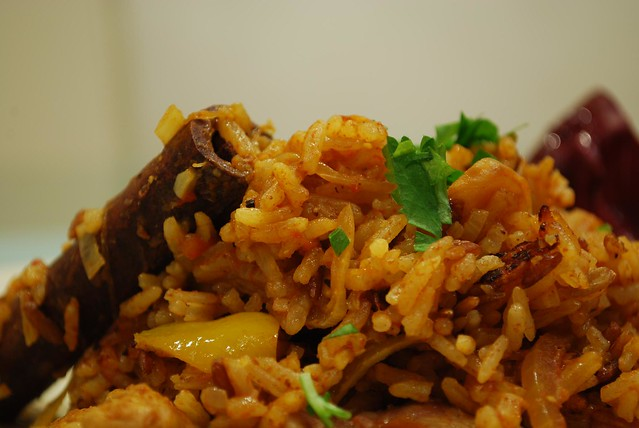 how to cook chicken pilau
