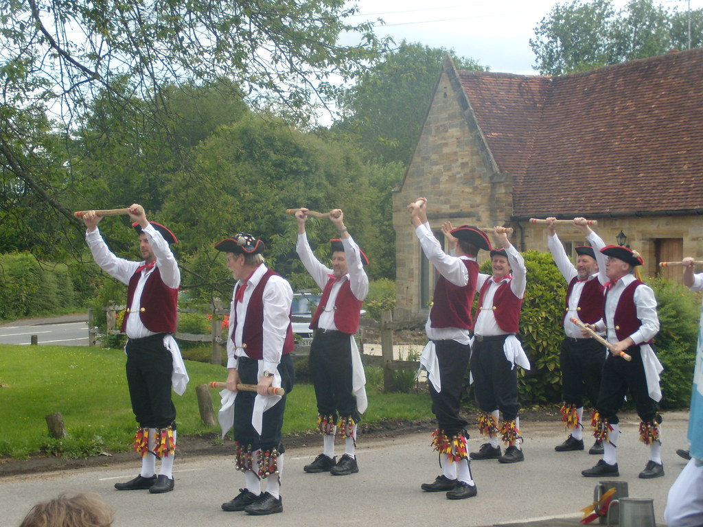 Morrismen - Dorset Arms the posh lot Ashurst Circular