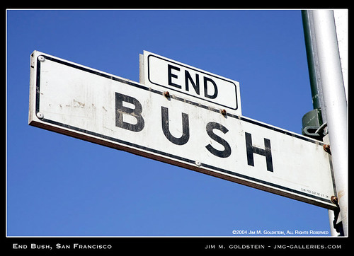 End Bush, San Francisco