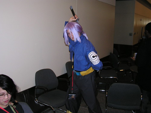 dbz cosplay  Trunks