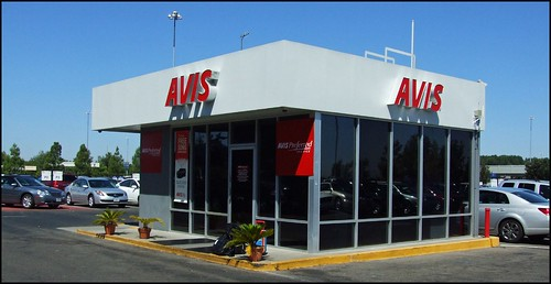 Avis Preferred Customer Booth.