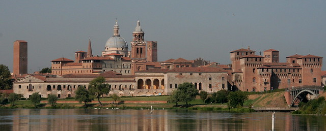 View of Mantova, from the bridge